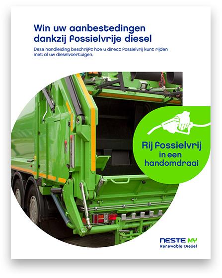 Whitepaper-omslag achterkant groene afvalwagen