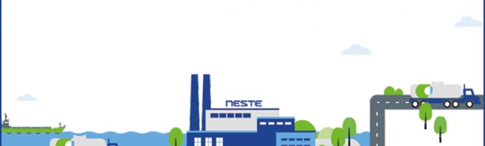 How is Neste MY Renewable Diesel produced?
