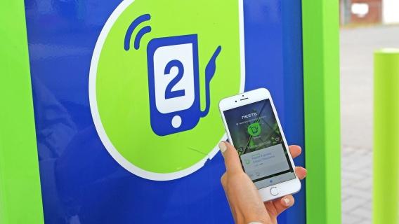Gebruikers van de Neste mobiele app